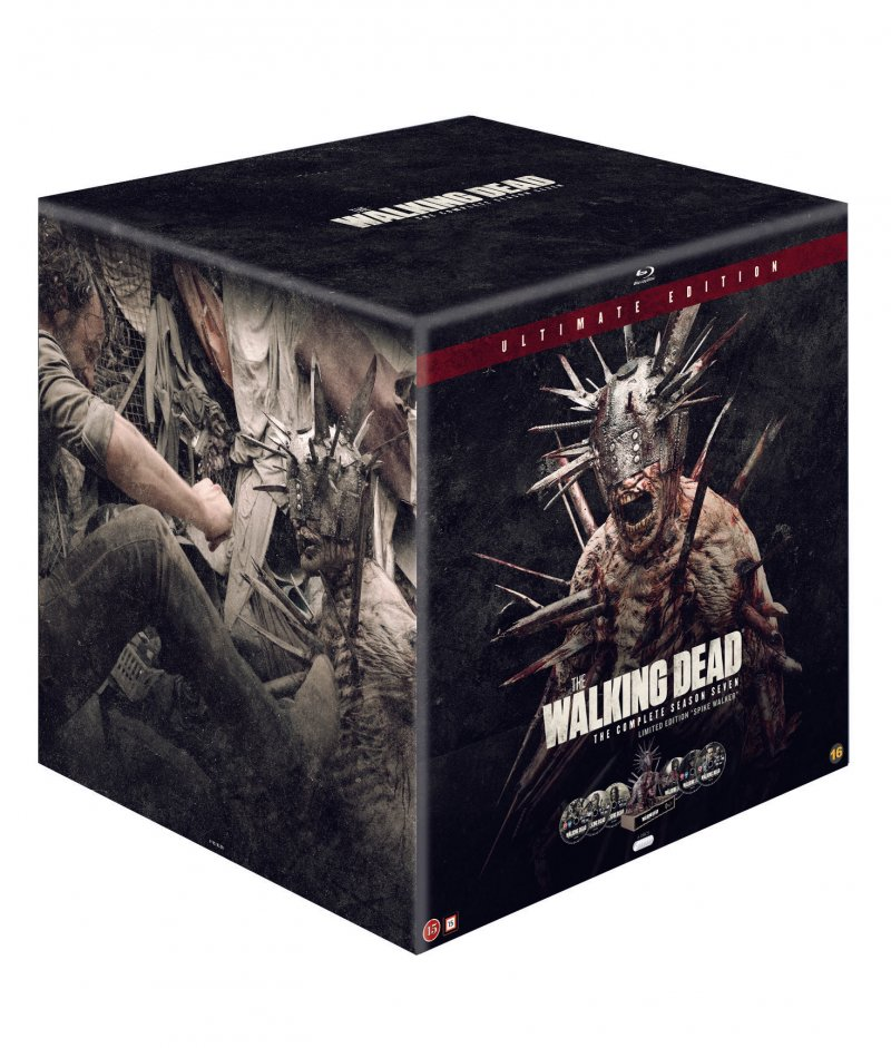 Billede af The Walking Dead - Sæson 7 - Spike Walker Limited Edition - Blu-Ray - Tv-serie