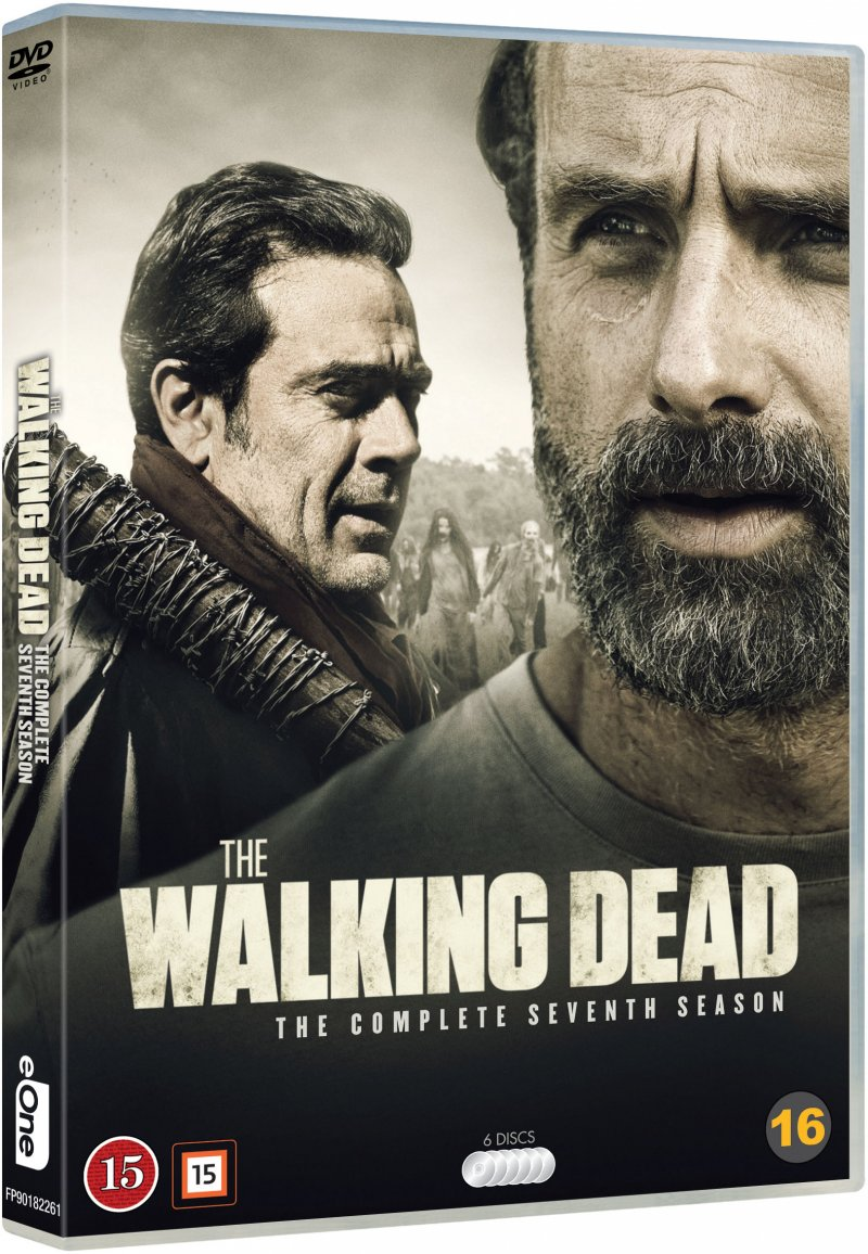 Image of   The Walking Dead - Sæson 7 - DVD - Tv-serie
