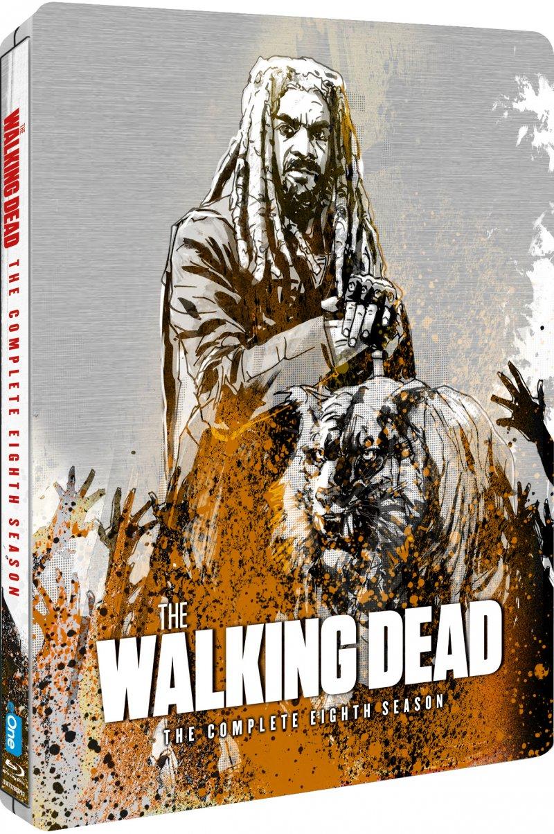 Billede af The Walking Dead - Sæson 8 - Steelbook - Blu-Ray - Tv-serie