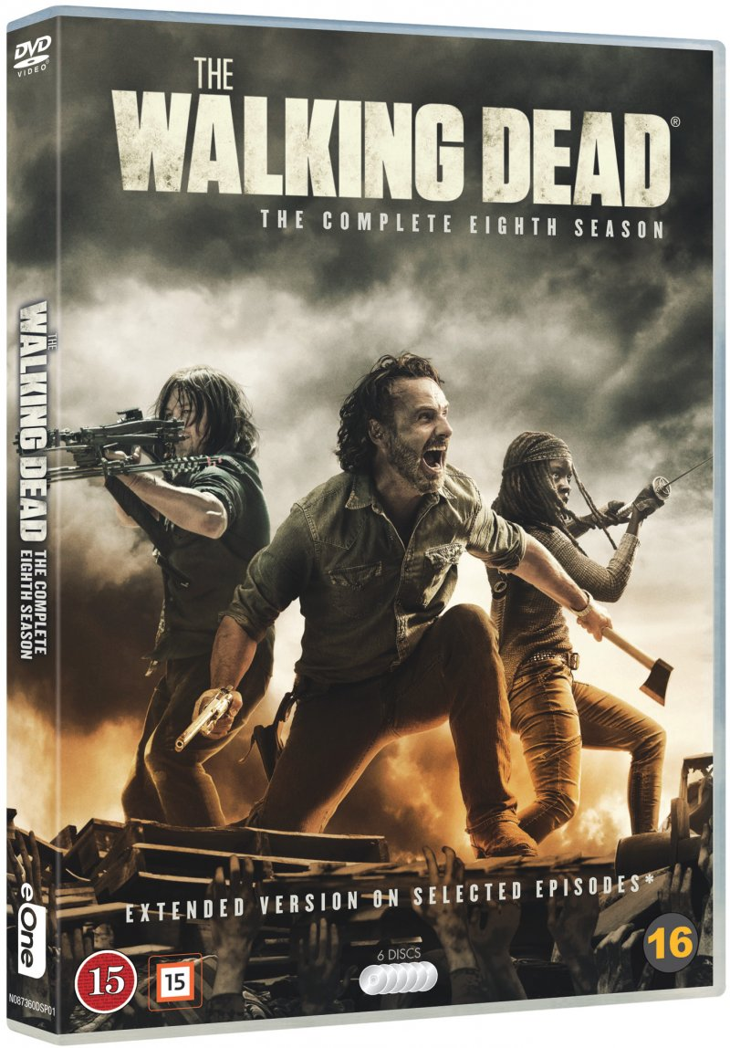 Image of   The Walking Dead - Sæson 8 - DVD - Tv-serie