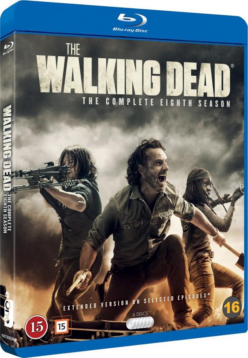 Rørig The Walking Dead - Sæson 8 Blu-Ray → Køb TV Serien her BF-54
