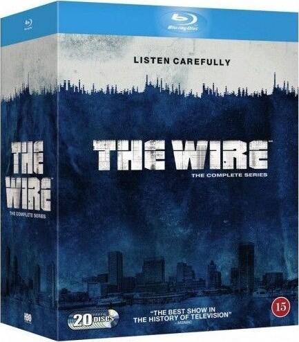 The Wire - Den Komplette Serie - Hbo - Blu-Ray - Tv-serie