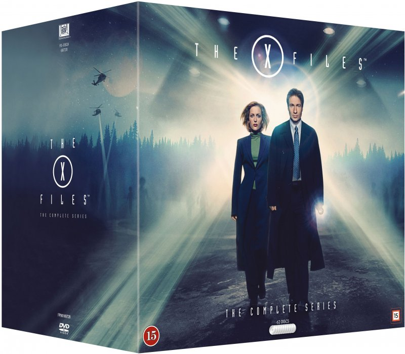 The X-files - Den Komplette Serie - DVD - Tv-serie