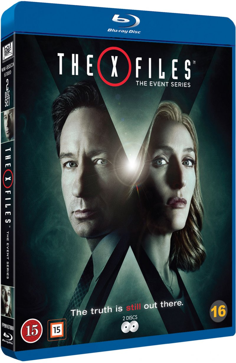 The X-files - The Event Series - Sæson 10 - Blu-Ray - Tv-serie
