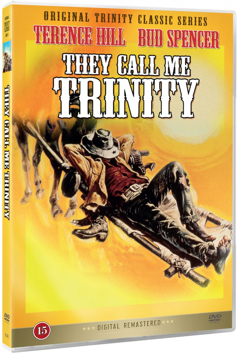 Image of   They Call Me Trinity - DVD - Film