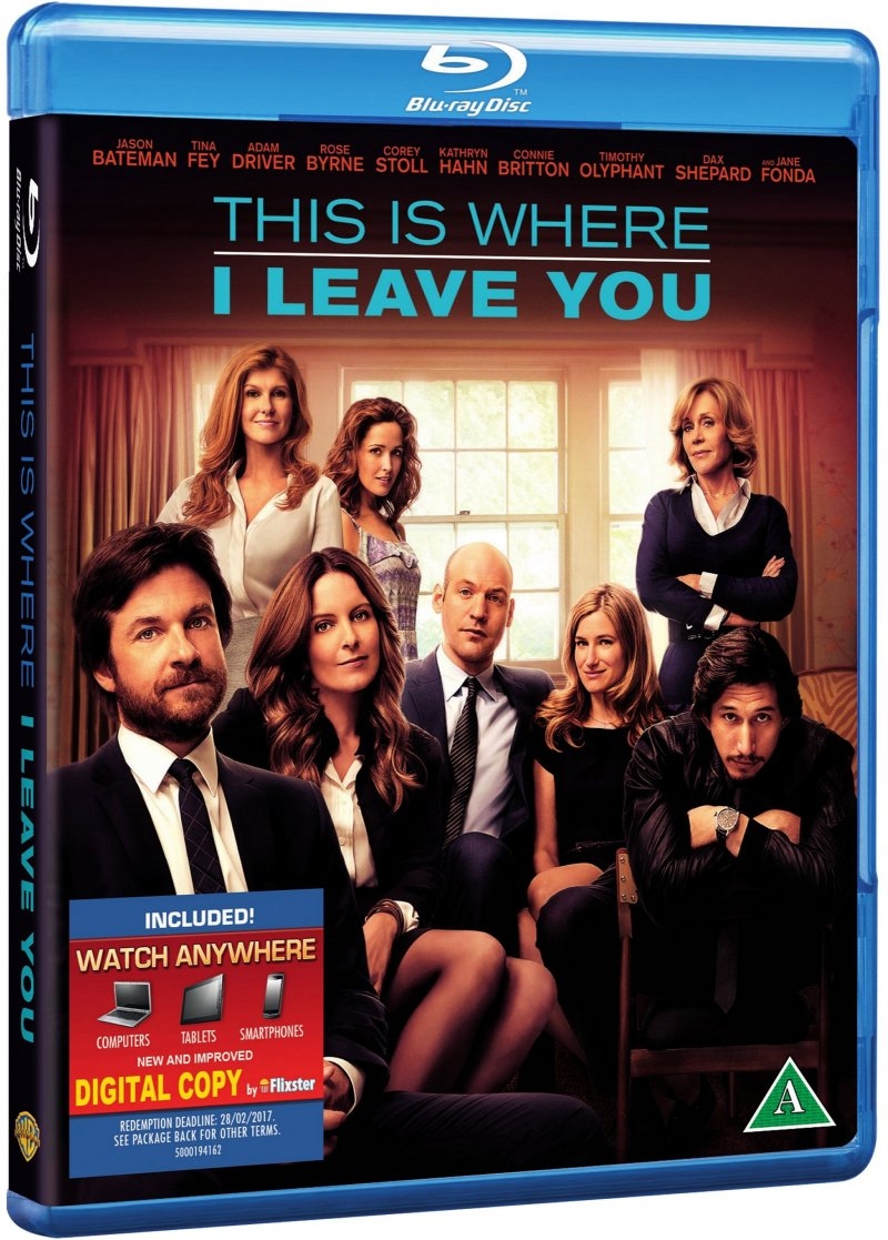 Billede af This Is Where I Leave You - Blu-Ray