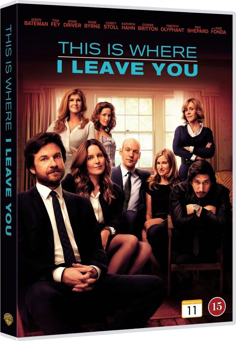 Billede af This Is Where I Leave You - DVD - Film