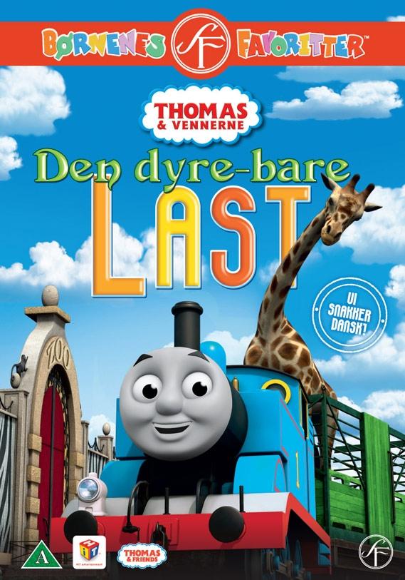 Image of   Thomas Og Vennerne 41 - Den Dyrebare Last - DVD - Tv-serie