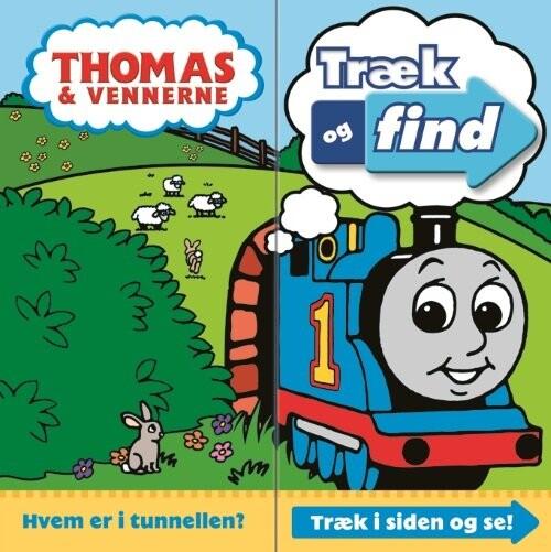 Image of   Thomas, Træk Og Find - W. Awdry - Bog