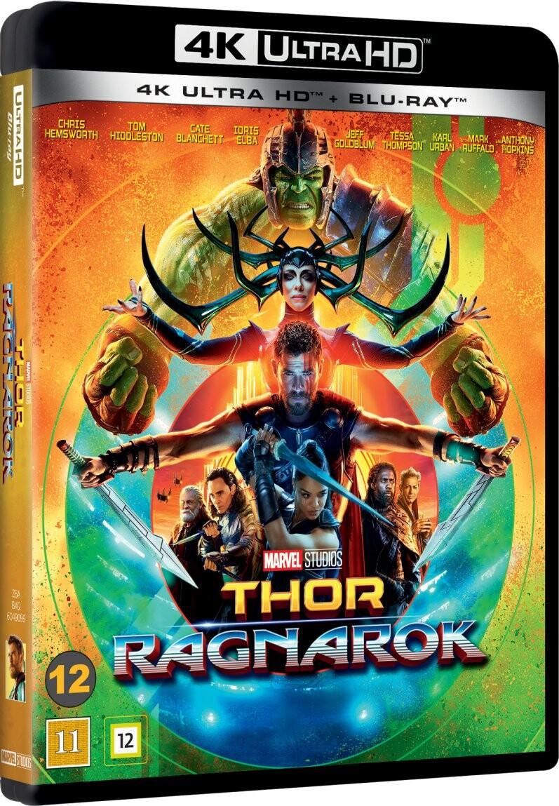 Image of   Thor 3 - Ragnarok - 4K Blu-Ray