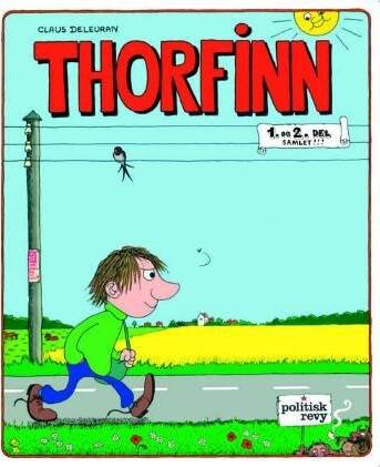 Thorfinn, 1. Og 2. Del Samlet!!! - Claus Deleuran - Tegneserie