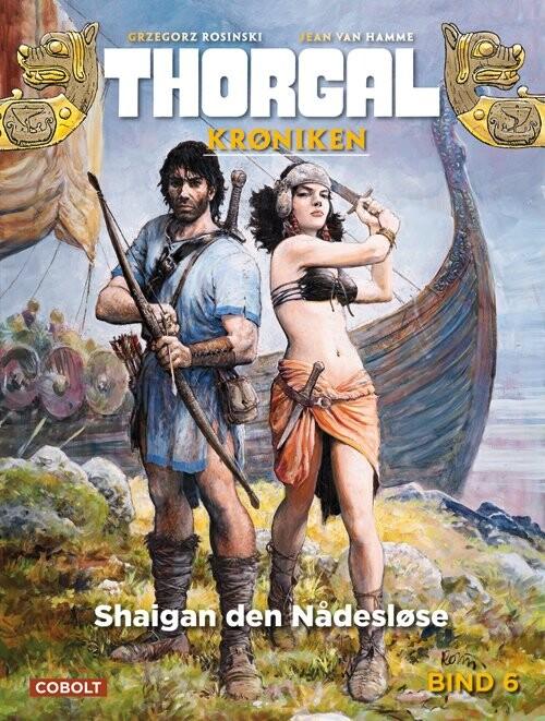 Billede af Thorgalkrøniken 6: Shaigan Den Nådesløse - Jean Van Hamme - Tegneserie