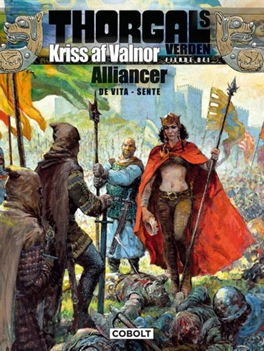 Image of   Thorgals Verden: Kriss Af Valnor, 4. Del - Yves Sente - Tegneserie