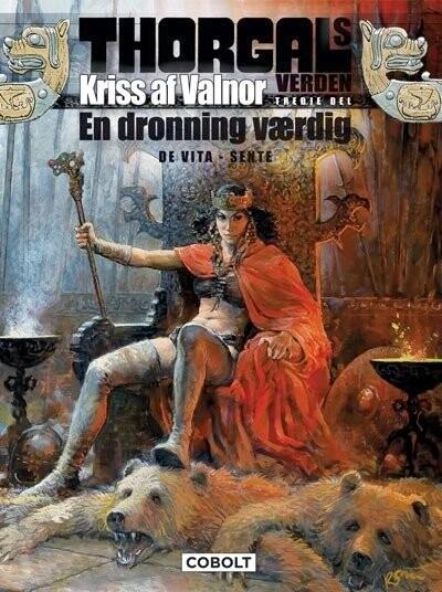 Image of   Thorgals Verden: Kriss Af Valnor, 3. Del - Giulio De Vita - Tegneserie