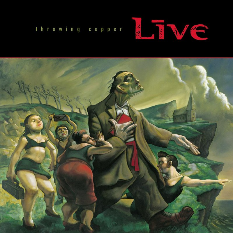 Image of   Live - Throwing Copper - Vinyl / LP