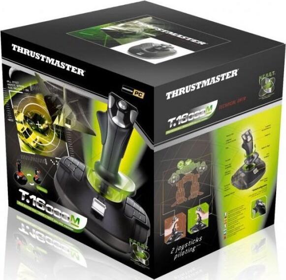Thrustmaster T-16000m Flight Stick