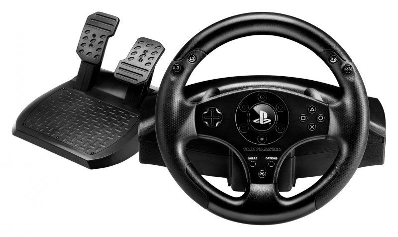 Thrustmaster T80 Rs Ps4 / Ps3 Officially Licensed Racing Wheel