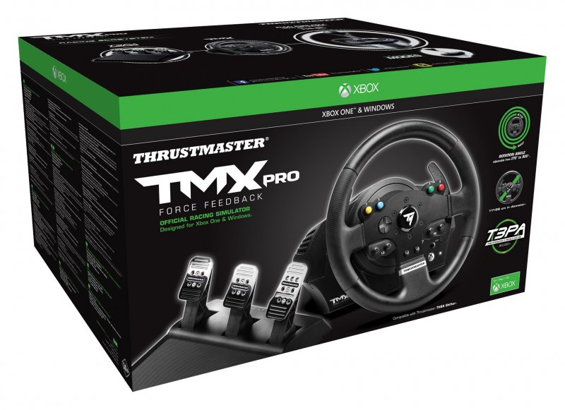 Image of   Thrustmaster Tmx Pro Rat Og Pedalsæt Til Xbox One / Pc