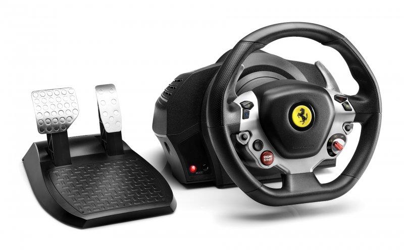 Image of   Thrustmaster Tx Racing Wheel Rat Og Pedalsæt - Ferrari 458 Italia Til Xbox One