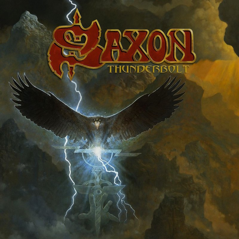 Saxon - Thunderbolt - Blood Red Vinyl - Vinyl / LP