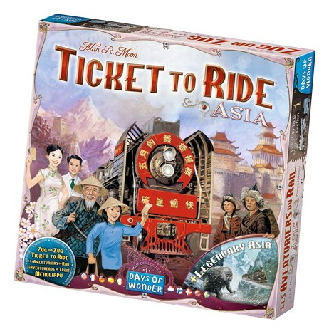 Ticket To Ride: Asia - Brætspil