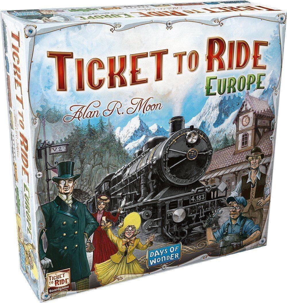 Ticket To Ride Brætspil - Europa