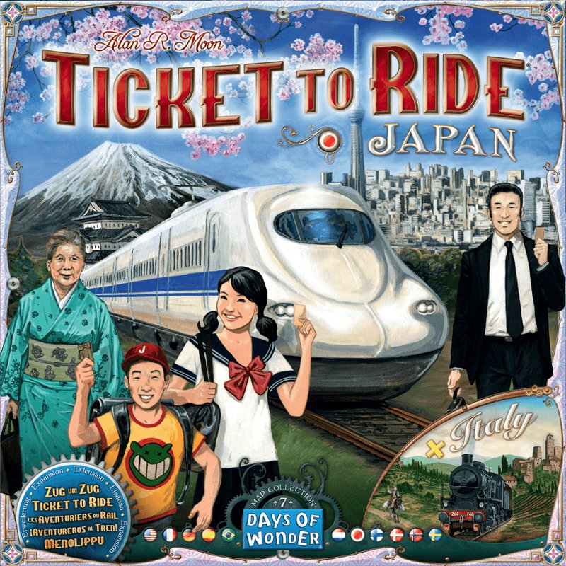 Ticket To Ride Brætspil - Japan Italy