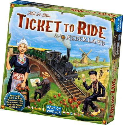 Ticket To Ride: Nederland - Brætspil