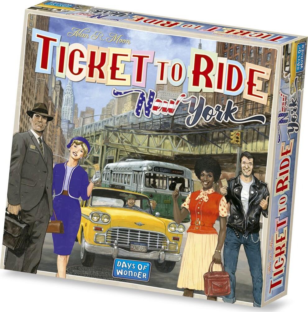 Ticket To Ride: New York - Brætspil - Engelsk