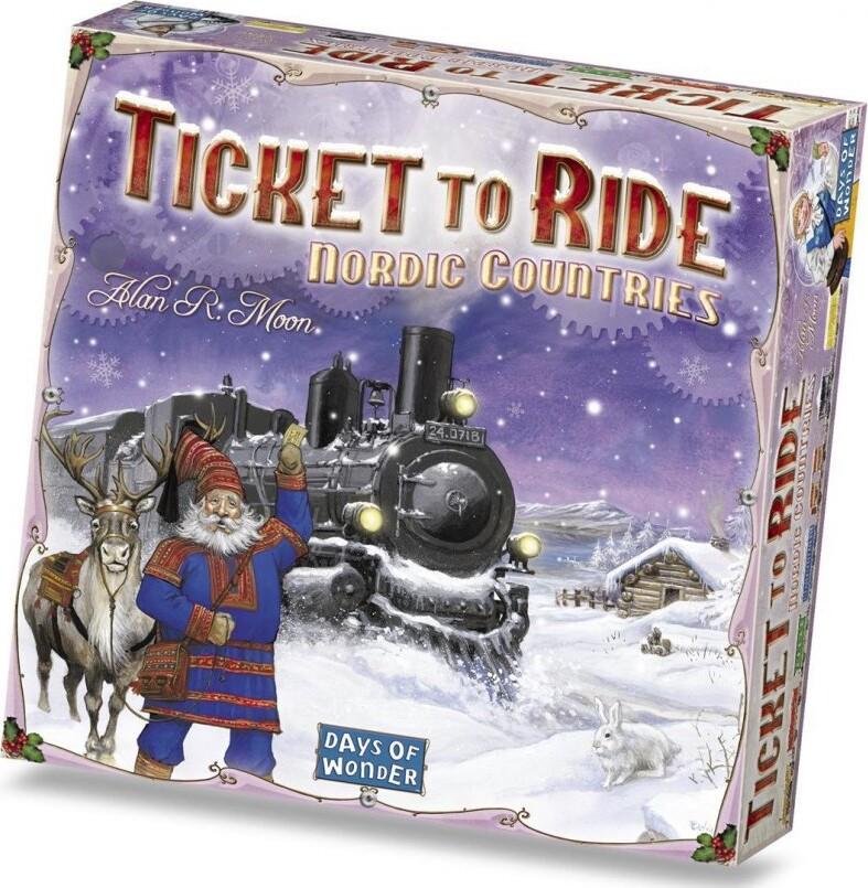 Ticket To Ride Brætspil - De Nordiske Lande