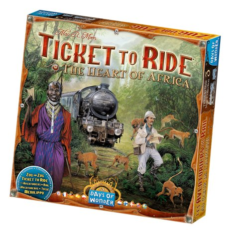 Ticket To Ride: The Heart Of Africa - Brætspil
