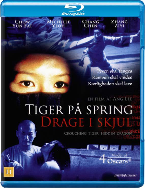 Image of   Crouching Tiger Hidden Dragon / Tiger På Spring Drage I Skjul - Blu-Ray