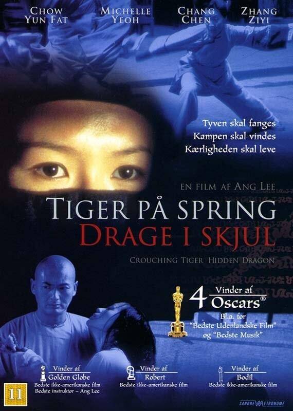 Crouching Tiger Hidden Dragon / Tiger På Spring Drage I Skjul DVD Film → Køb billigt her - Gucca.dk