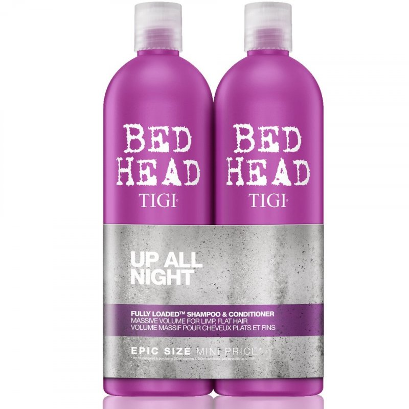 Tigi Bed Head Fully Loaded Massive Volume Shampoo & Conditioner - 750 Ml