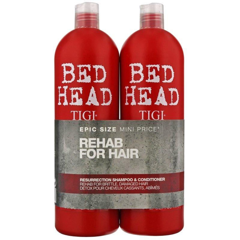 Tigi Bed Head Urban Antidotes Resurrection Shampoo & Conditioner - 750 Ml