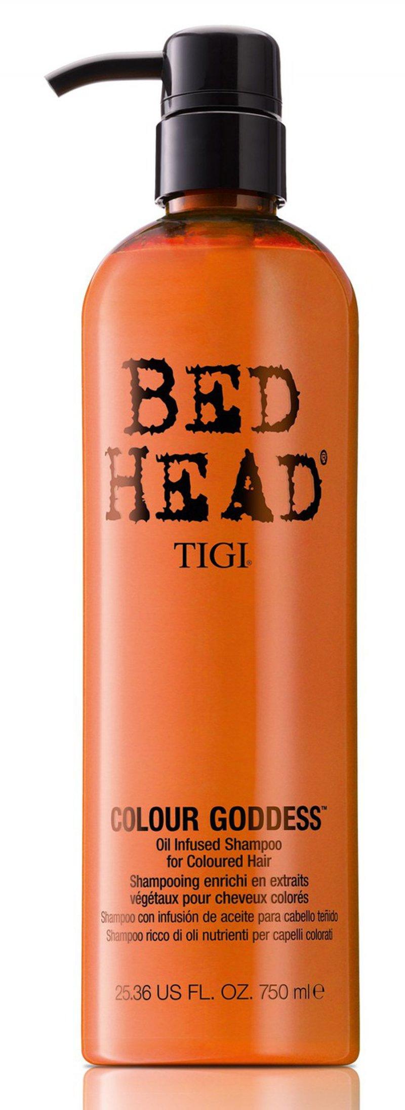 Image of   Tigi Bed Head Colour Goddess Oil Infused Shampoo - 750 Ml