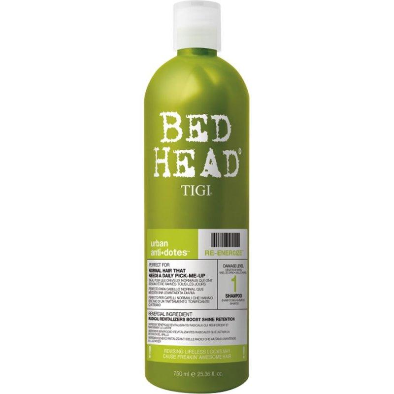 Tigi Bed Head Urban Antidotes Re-energize Shampoo - 750 Ml