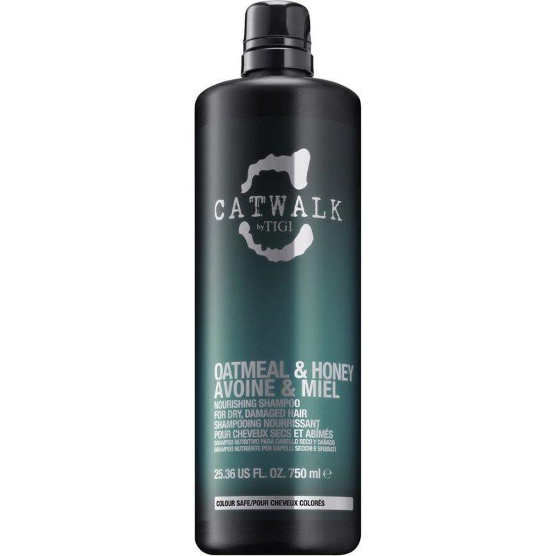 Tigi Catwalk Oatmeal & Honey Nourishing Shampoo - 750 Ml