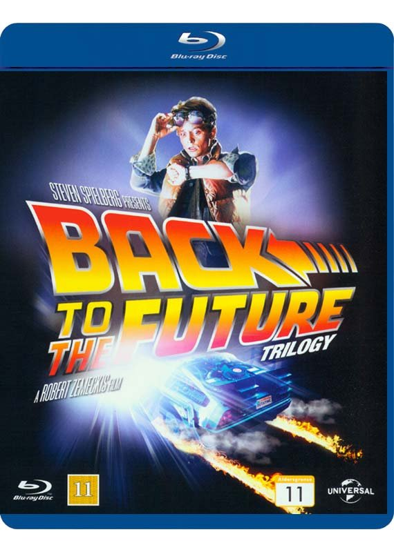 Back To The Future	 / Tilbage Til Fremtiden - 1-3 Trilogy Box Set - Blu-Ray