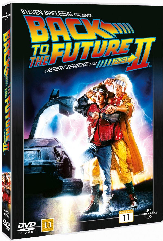 Image of   Back To The Future2 / Tilbage Til Fremtiden 2 - DVD - Film