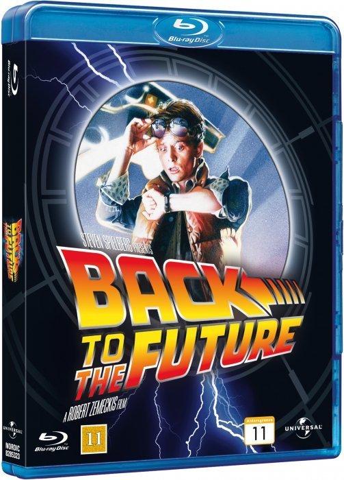 Image of   Back To The Future / Tilbage Til Fremtiden - Blu-Ray