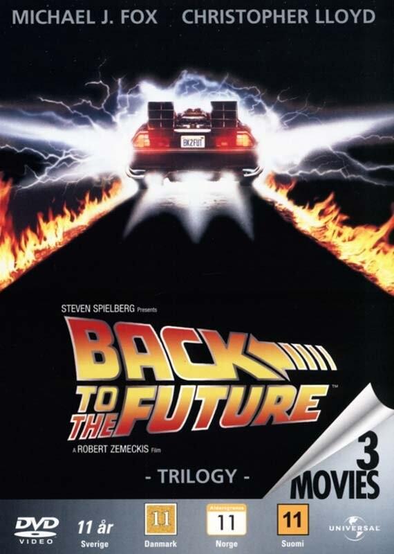 Image of   Back To The Future / Tilbage Til Fremtiden - 1-3 Trilogy Box Set - DVD - Film