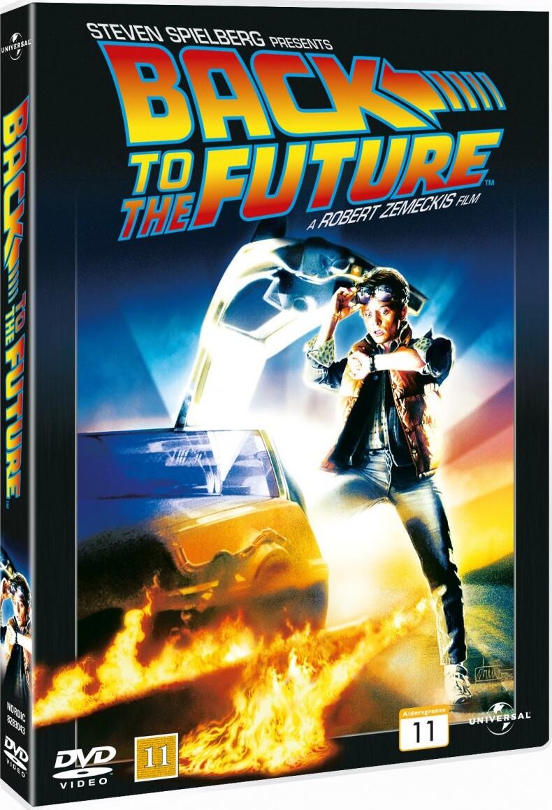 Image of   Back To The Future / Tilbage Til Fremtiden - DVD - Film