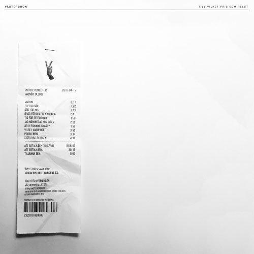 Västerbron - Till Vilket Pris Som Helst - Vinyl / LP