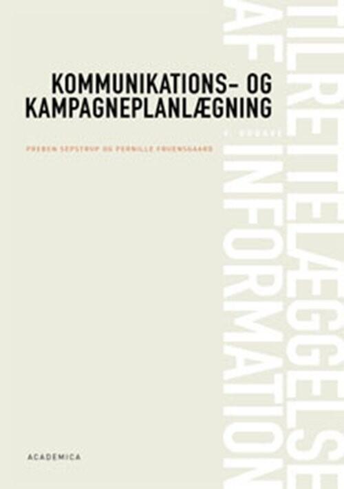 Tilrettelæggelse Af Information - Preben Sepstrup - Bog
