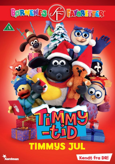 Image of   Timmy Time / Timmy Tid 9 - Timmys Jul - DVD - Film