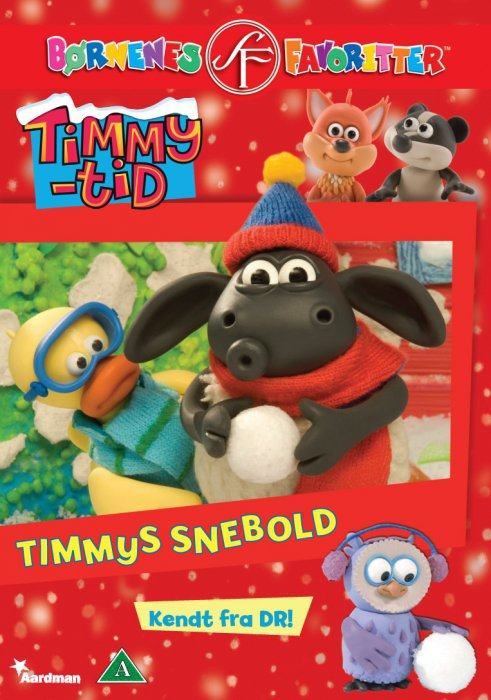 Image of   Timmy Tid - Timmys Snebold - DVD - Film