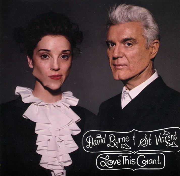 Billede af David Byrne And Vincent - Love This Giant - CD