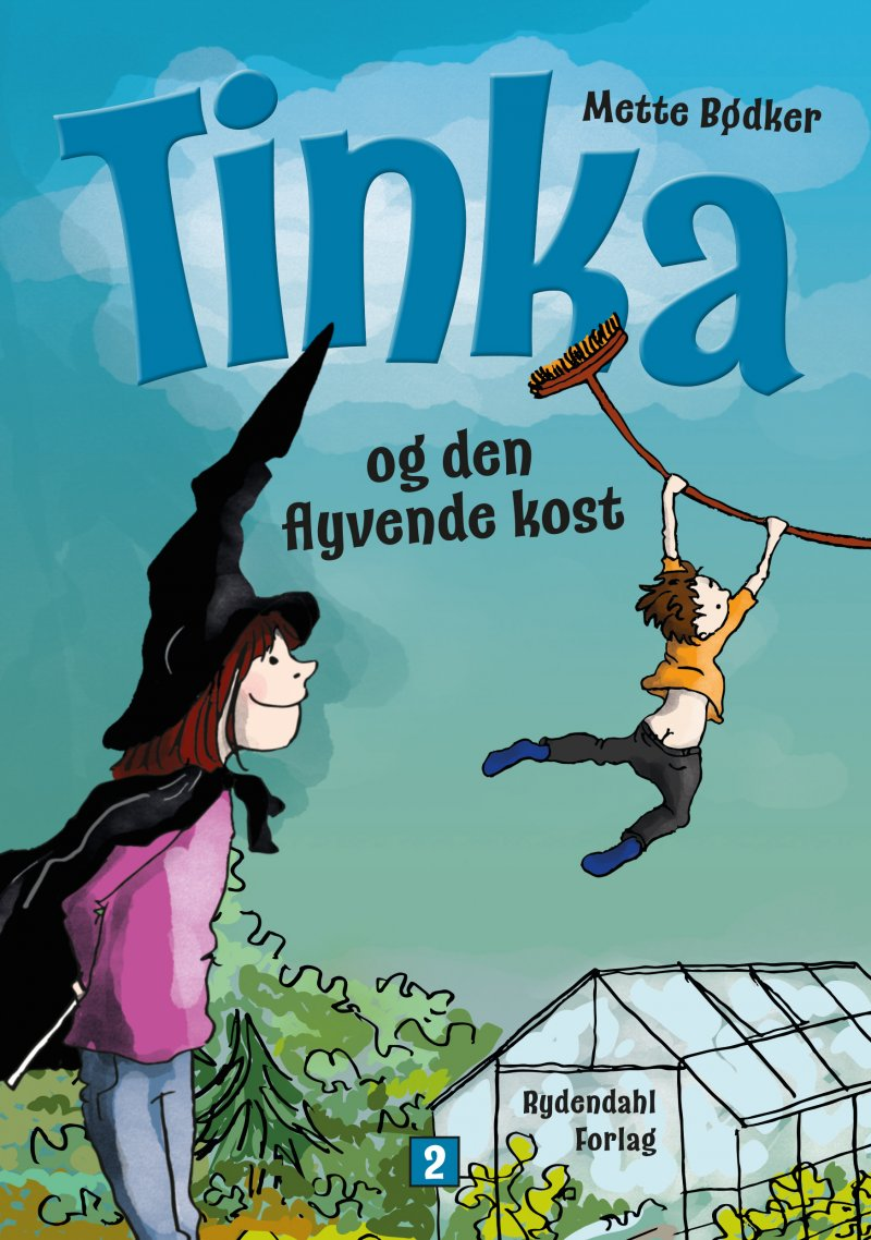 Billede af Tinka Og Den Flyvende Kost - Mette Bødker - Bog