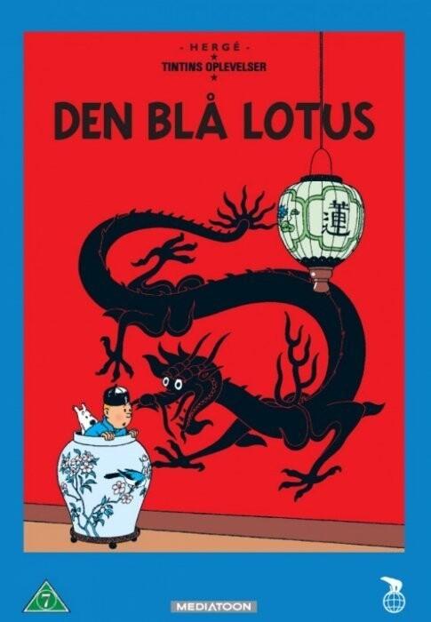Image of   Tintin - Den Blå Lotus / The Blue Lotus - DVD - Film